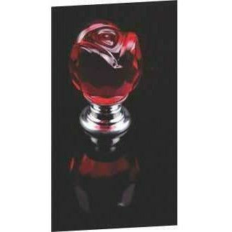 Crystal knob rose shape - Decor Handles