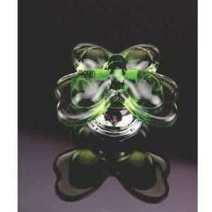 Crystal knob butterfly shape - Decor Handles
