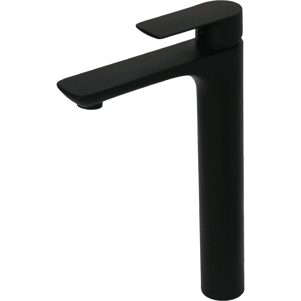 Black Basin Mixer - 250mm - Decor Handles