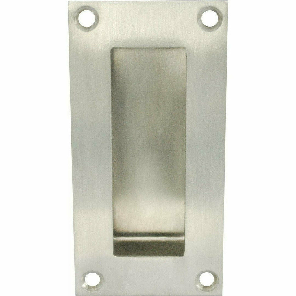 Square flush handle 150mm - Decor Handles