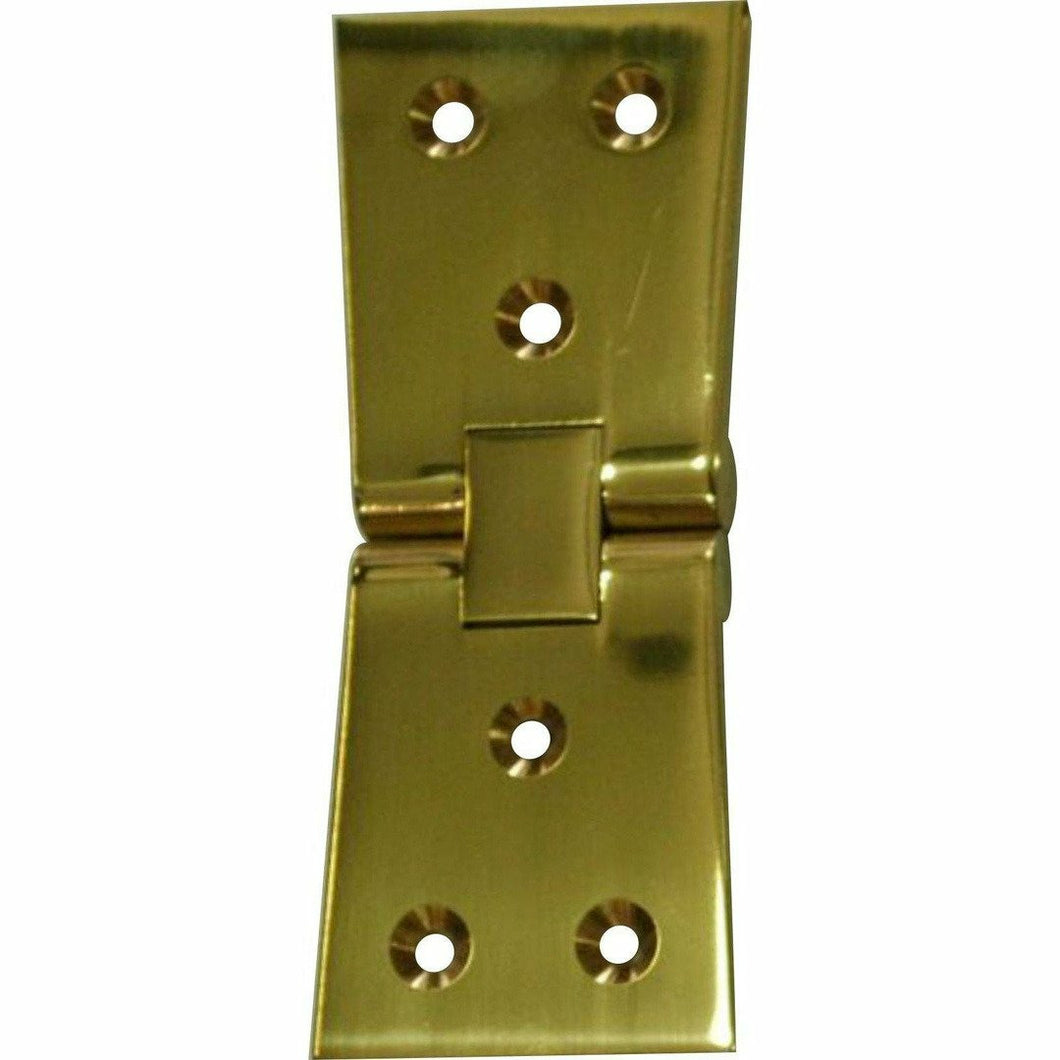 Solid brass heavy duty counter flap/each