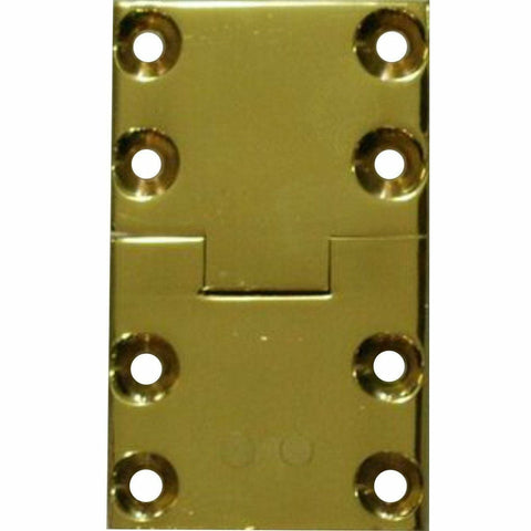 Solid brass butler tray hinge - Decor Handles
