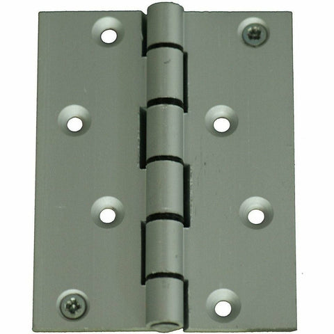 100 X 75mm Aluminium door hinges - Decor Handles