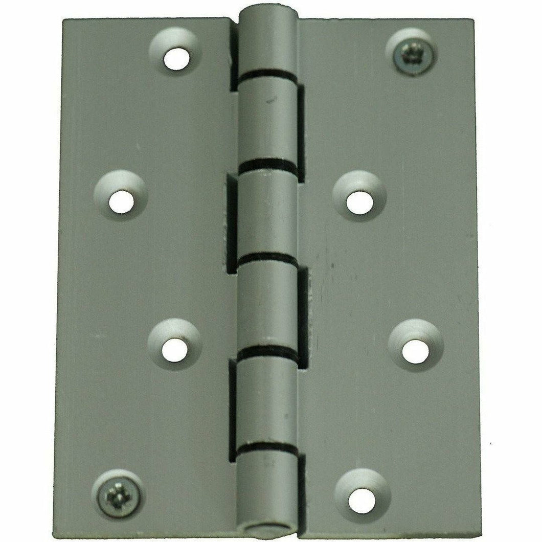 100 X 75MM ALUMINIUM BUTT HINGE