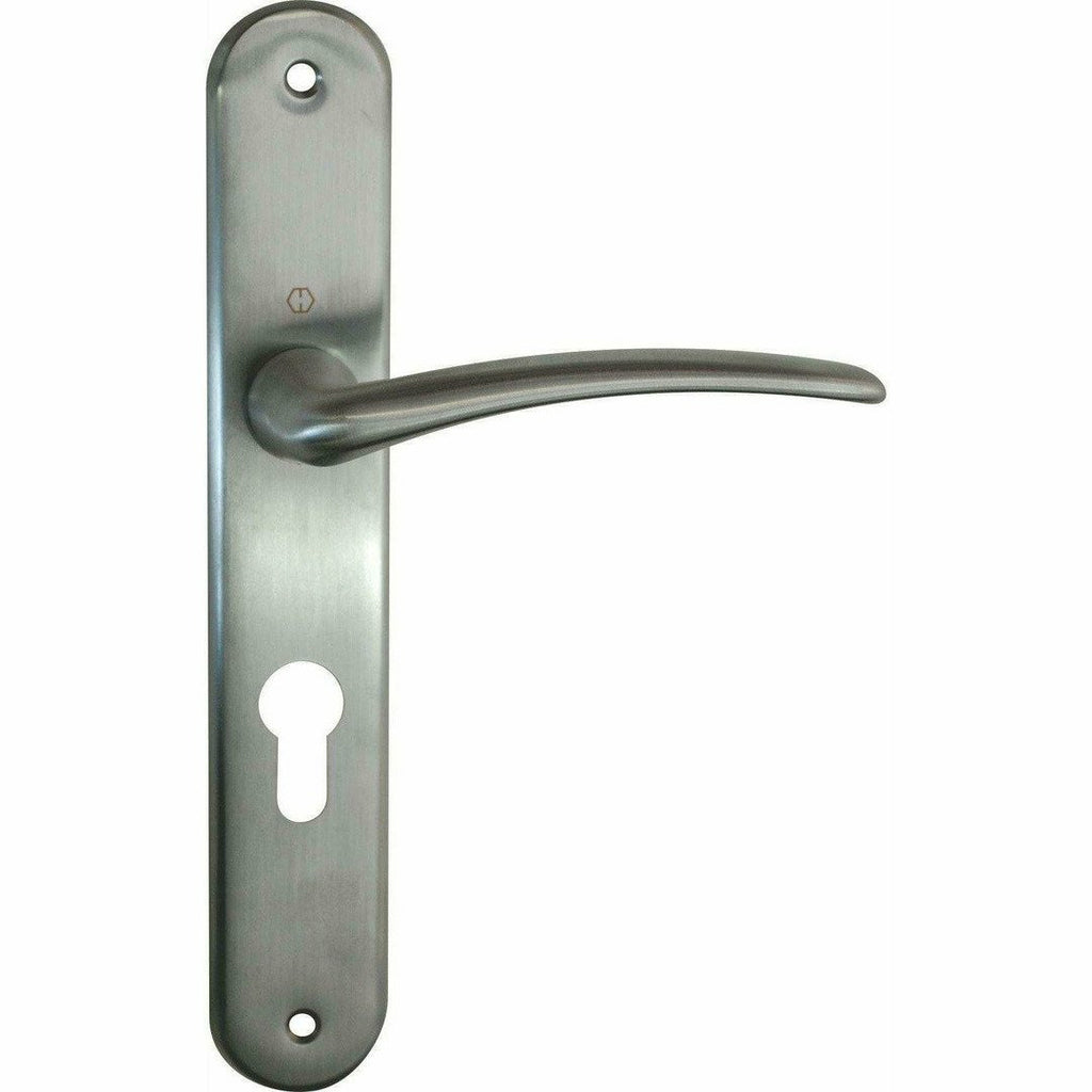"""Istanbul"" - classic door handles on back plate - Decor Handles"