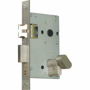 Professional cylinder mortise lock with silent latch - Decor Handles