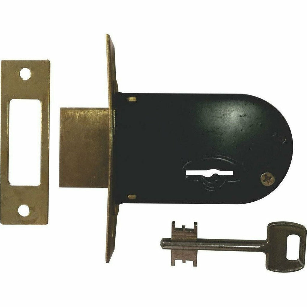 Security Gate Lock - 5 Lever - Decor Handles