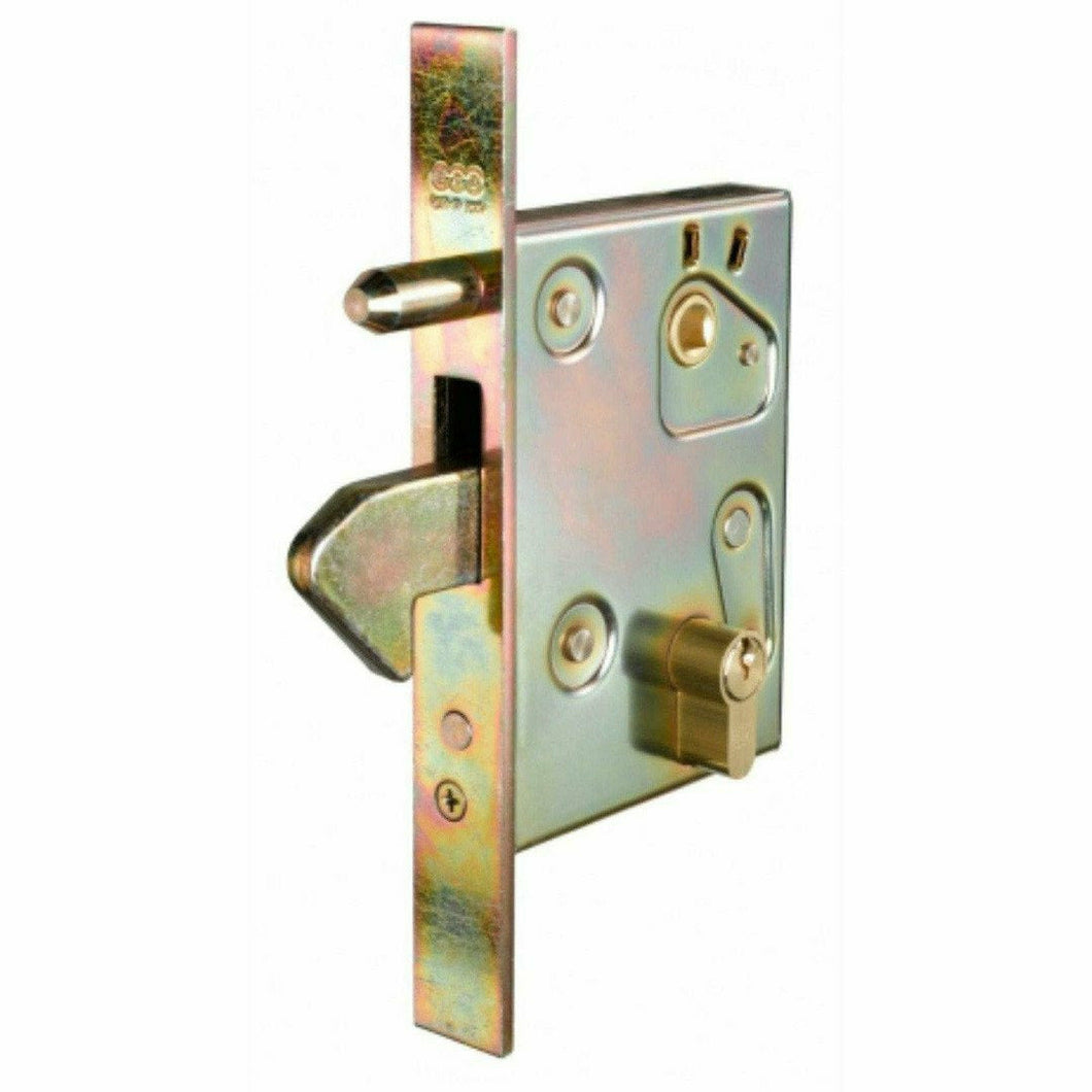 Slam lock with anti-theft pin - Decor Handles