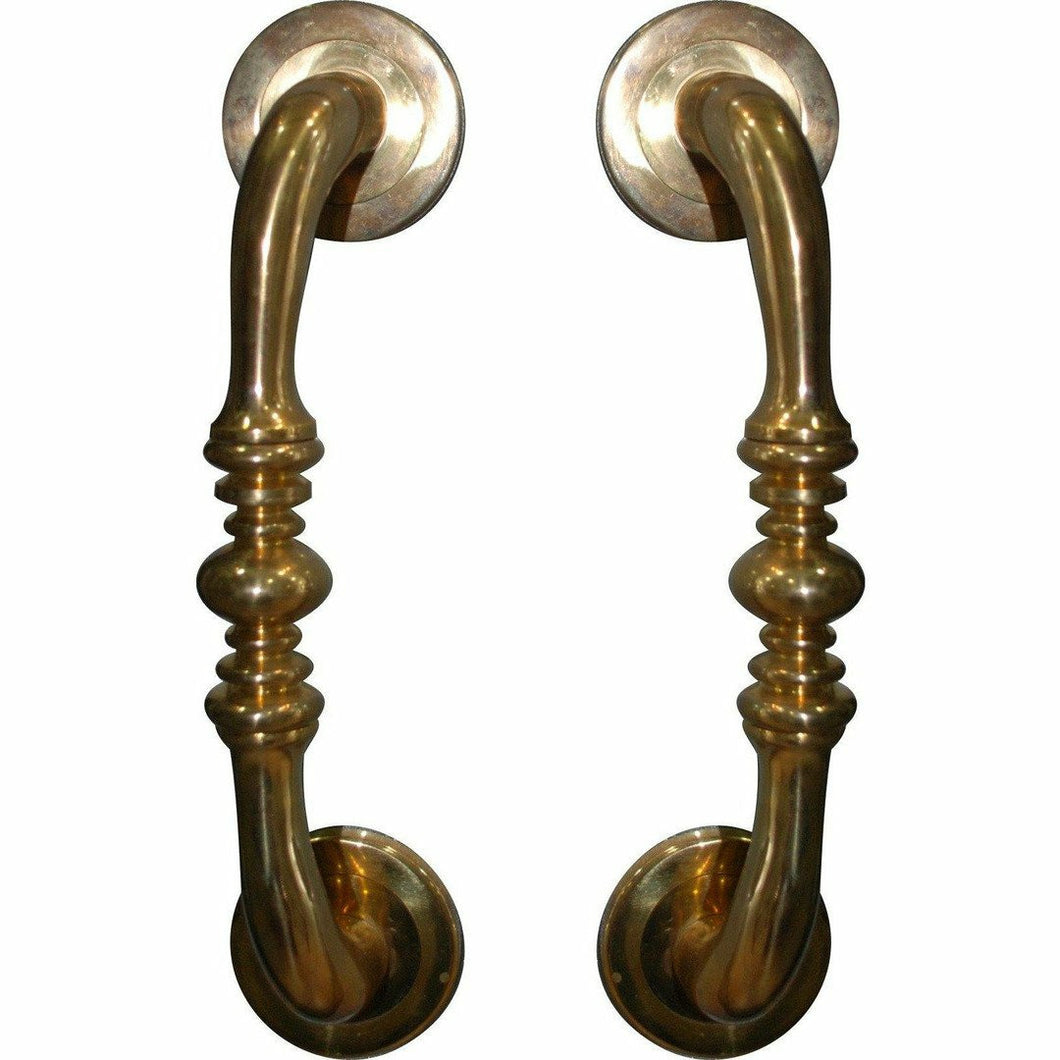 Solid brass pull handle 245mm - Decor Handles