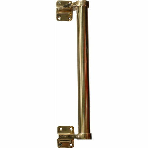 Solid brass tubular offset handle - 300mm - Decor Handles