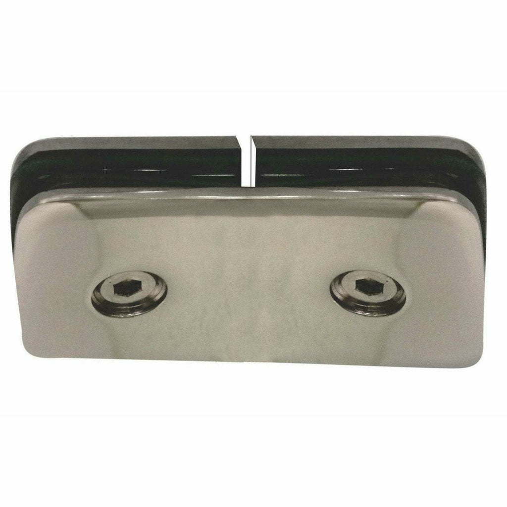 Glass to glass straight shower bracket - Decor Handles