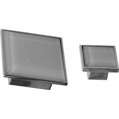 Square glass knob - Decor Handles