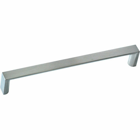 Modern brushed chrome cupboard handle - Decor Handles