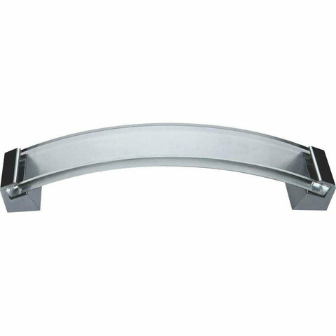 Bent glass cupboard handle - Decor Handles