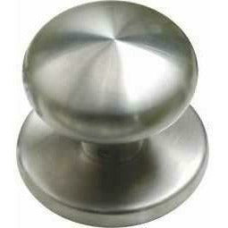 stainless steel central knob - Decor Handles