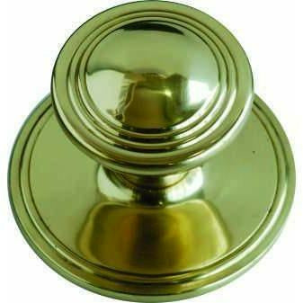 solid brass central knob - Decor Handles