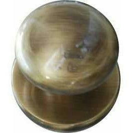 antique brass central knob - Decor Handles