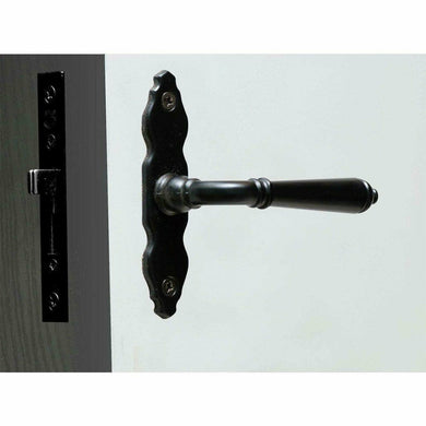 Black window handle and lock set - Decor Handles