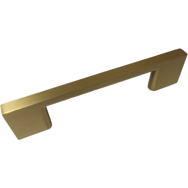 Neptune Handle in Matt Brass Finish - Decor Handles