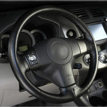 Load image into Gallery viewer, Soft Fiber Leather Steering Cover