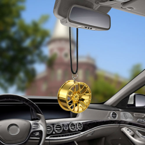 Metal Wheel Hub Car Ornament