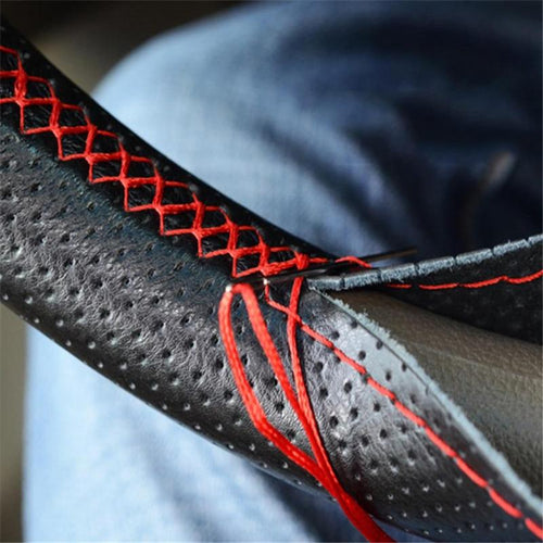 Artificial Leather Steering Cover