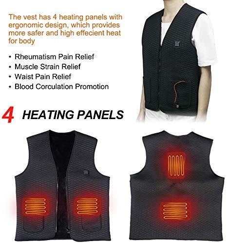 ThermoVest™ Electric Power Heating Vest