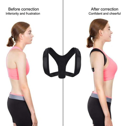Image of Swell Posture™ Therapy Back Brace Corrective Corrector for Men & Women