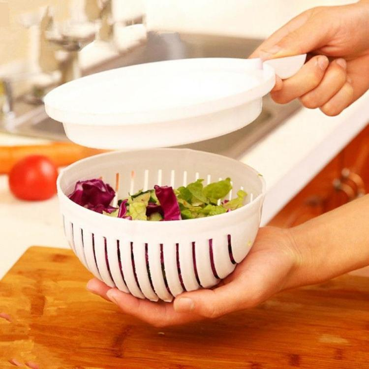 Instant Salad Cutter Bowl