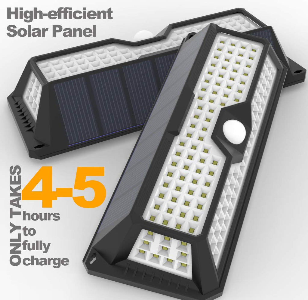 UltraBright 136 LED Solar Light with Motion Sensor