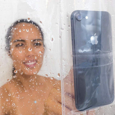 TCG Shower Curtain for Tablets & Cellphones