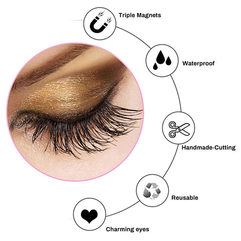 NaturalLoox™ Magnetic Eyelashes Kit