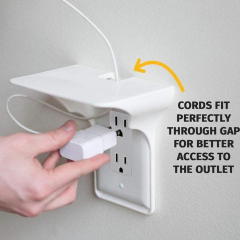 Image of Ultimate Wall Outlet Shelf
