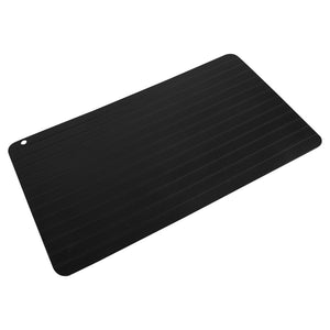 Fast Aerospace Aluminium Defrosting Tray - Food Grade Defrost rock-hard meats, poultry, and fish 8x times faster than usual