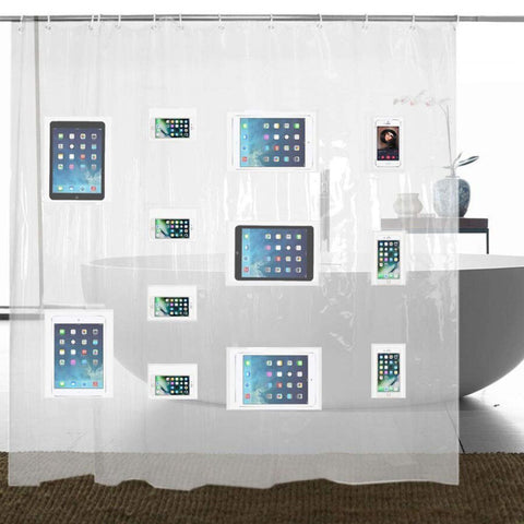 Image of TCG Shower Curtain for Tablets & Cellphones