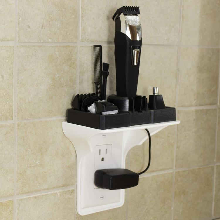 Ultimate Wall Outlet Shelf