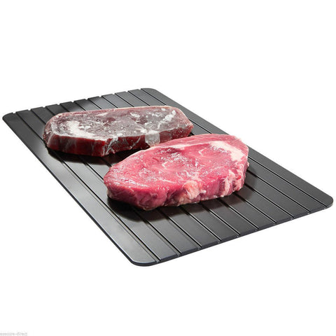 Image of Fast Aerospace Aluminium Defrosting Tray - Food Grade Defrost rock-hard meats, poultry, and fish 8x times faster than usual
