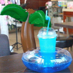 Coconut Tree Floating Drinks Holder