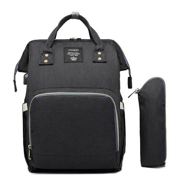 LeQueen USB Chargeable Diaper Bag