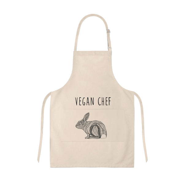 Apron Vegan Chef Bunny