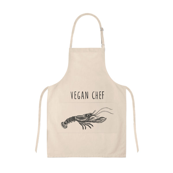 Apron Vegan Chef Lobster