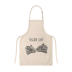 Apron Vegan Chef Pigs