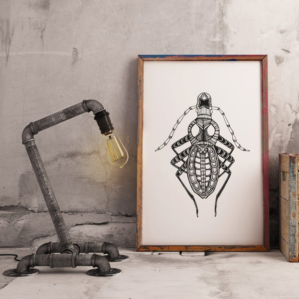 Art Print Insect 2