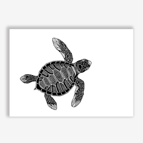 Art Print Turtle (green turtle)