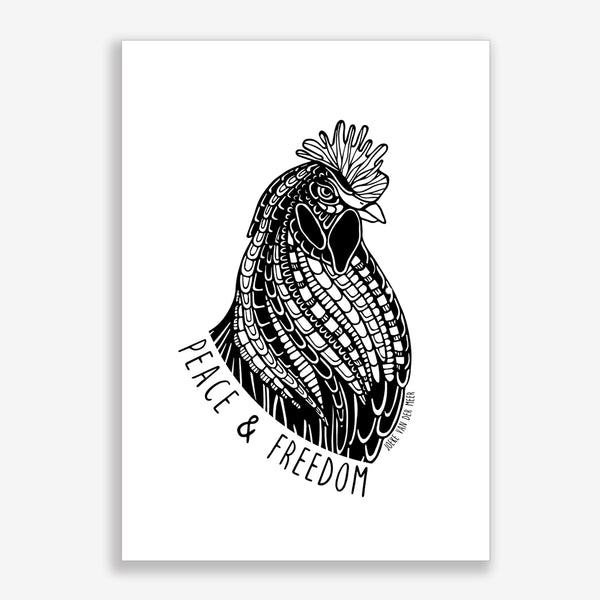 Art Print Rooster🐓