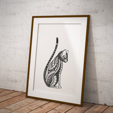 Load image into Gallery viewer, Art Print Cat