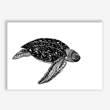 Load image into Gallery viewer, Art Print Turtle (leatherback)