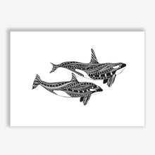 Load image into Gallery viewer, Art Print Orca