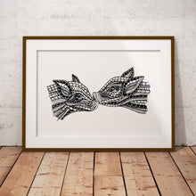 Load image into Gallery viewer, Art Print Piglets