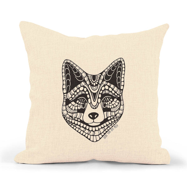 Pillowcase Fox (text on the back)